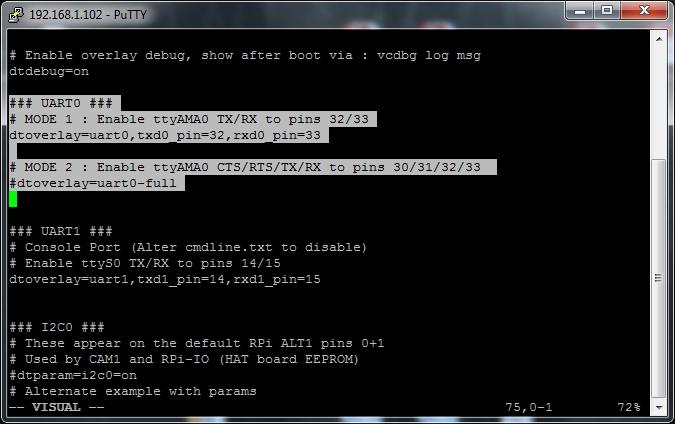 MyPi Industrial Raspberry Pi Compute Module Serial Configuration ttyAMA0 Step 3