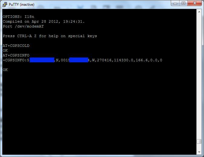 MyPi Industrial Raspberry Pi SIMCOM 5360 Modem GPS Configuration Step 1
