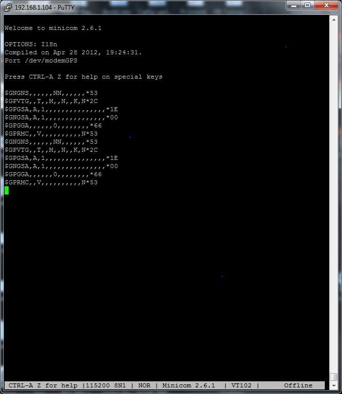 MyPi Industrial Raspberry Pi SIMCOM 5360 Modem GPS Configuration Step 2