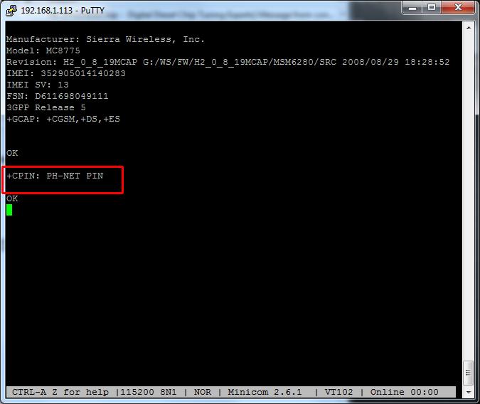 MyPi Industrial Raspberry Pi Modem Troubleshooting